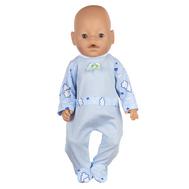 Комбинезон голубой для куклы Беби Бон 38-43 см, фото 1