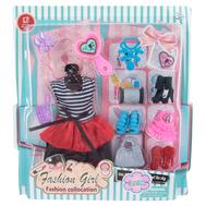 """Набор одежды для куклы Барби """"Платье и 11 аксессуаров"""", фото 1"""