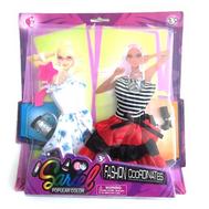 """Набор одежды для куклы Барби """"2 платья, обувь, сумочка, расческа"""", фото 1"""