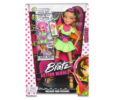 (523413) кукла Bratz Супергерои, Жасмин, фото 2