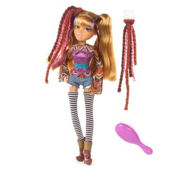 (523208) кукла Bratz С дредами, Жасмин, фото 1