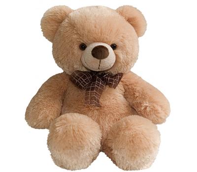 (21-137) AURORA Игрушка мягкая Медведь медовый 45см, фото 1