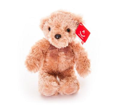 AURORA Игрушка мягкая Медведь светло-коричневый 20 см, фото 1
