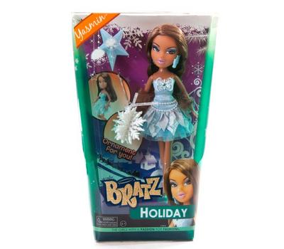 (415848) Кукла Bratz Праздничная с елочным украшением, Жасмин, фото 1