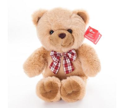 AURORA Игрушка мягкая Медведь с клетч. бантом 35 см, фото 1