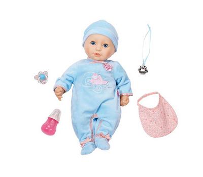 Кукла Baby Annabell многофункциональная в голубом, 43 см (794-654), фото 2