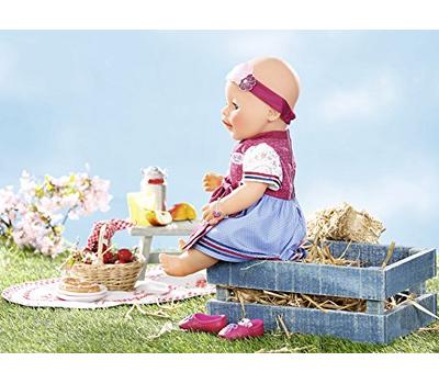 Кукла Baby Born Красотка интерактивная 43 cм с аксессуарами, фото 7