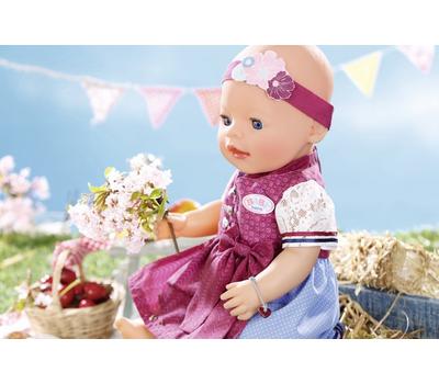 Кукла Baby Born Красотка интерактивная 43 cм с аксессуарами, фото 5