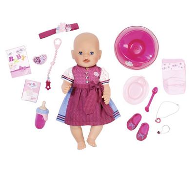 Кукла Baby Born Красотка интерактивная 43 cм с аксессуарами, фото 2