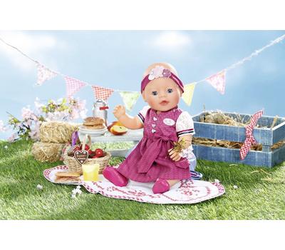 Кукла Baby Born Красотка интерактивная 43 cм с аксессуарами, фото 3