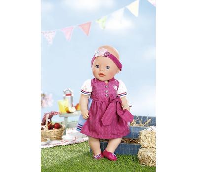 Кукла Baby Born Красотка интерактивная 43 cм с аксессуарами, фото 4