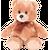 AURORA Игрушка мягкая Медведь медовый сидячий 20 см, фото 2