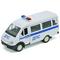 Игрушка модель машины ГАЗель МИЛИЦИЯ ДПС (42387APB), фото 1