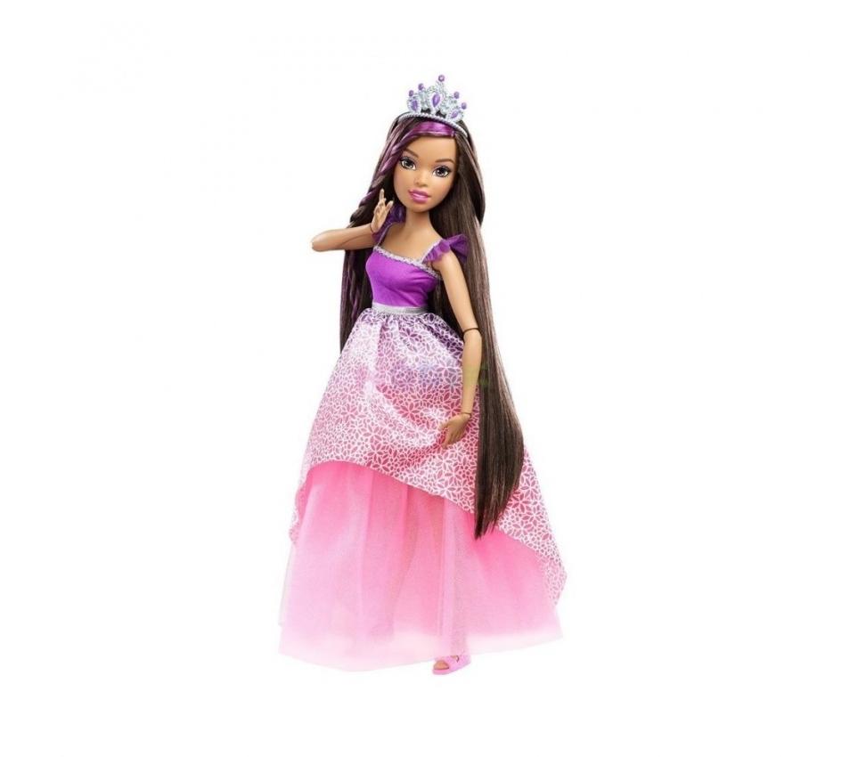 Большая кукла с длинными волосами барби
